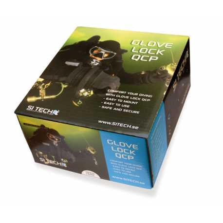 Droogpak handschoenen van Si Tech compleet Pakket