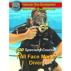IDD Specialty Instructor Full Face Mask